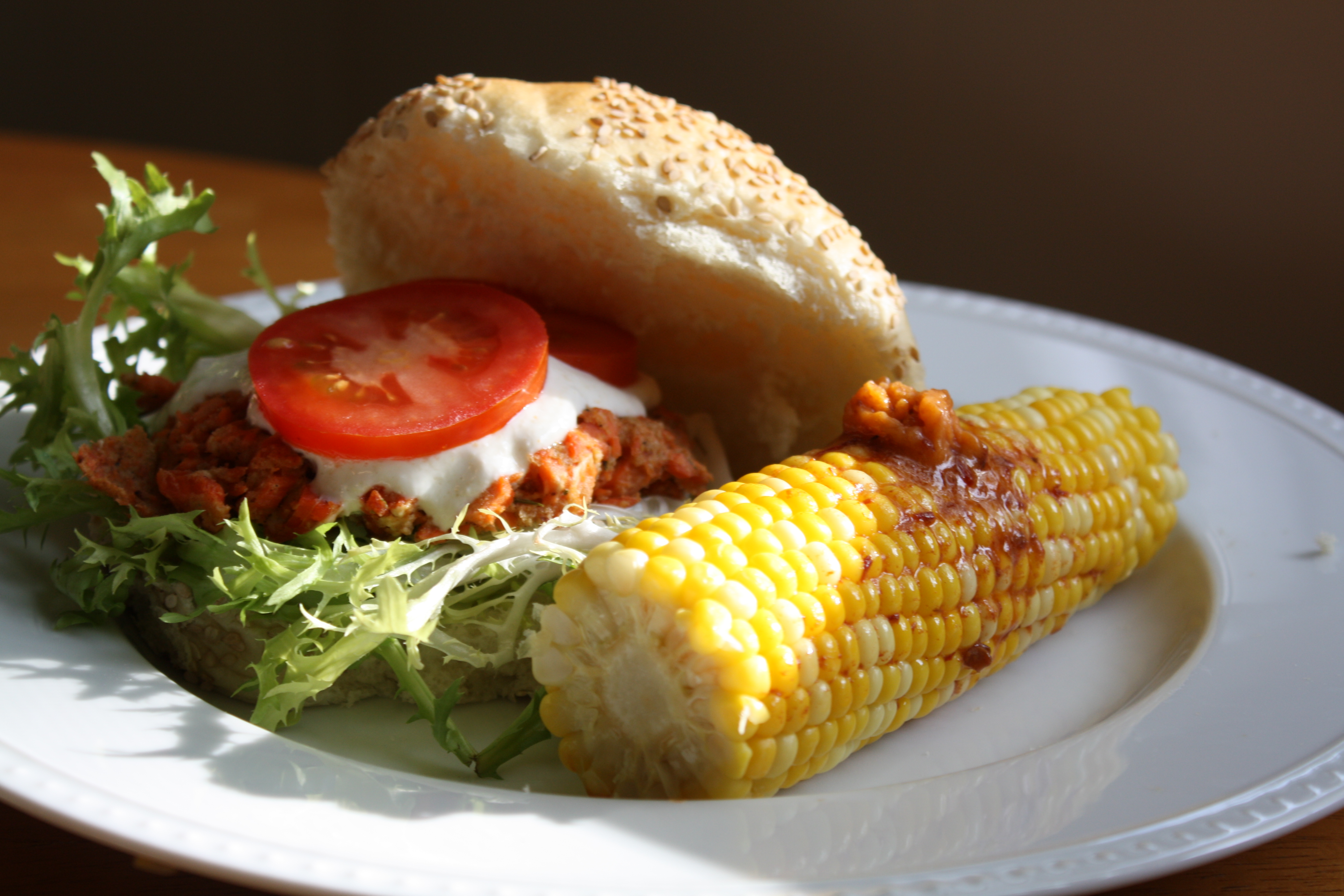 ... Sauce and Corn on the Cob with Chipotle Butter | The Gourmand Mom