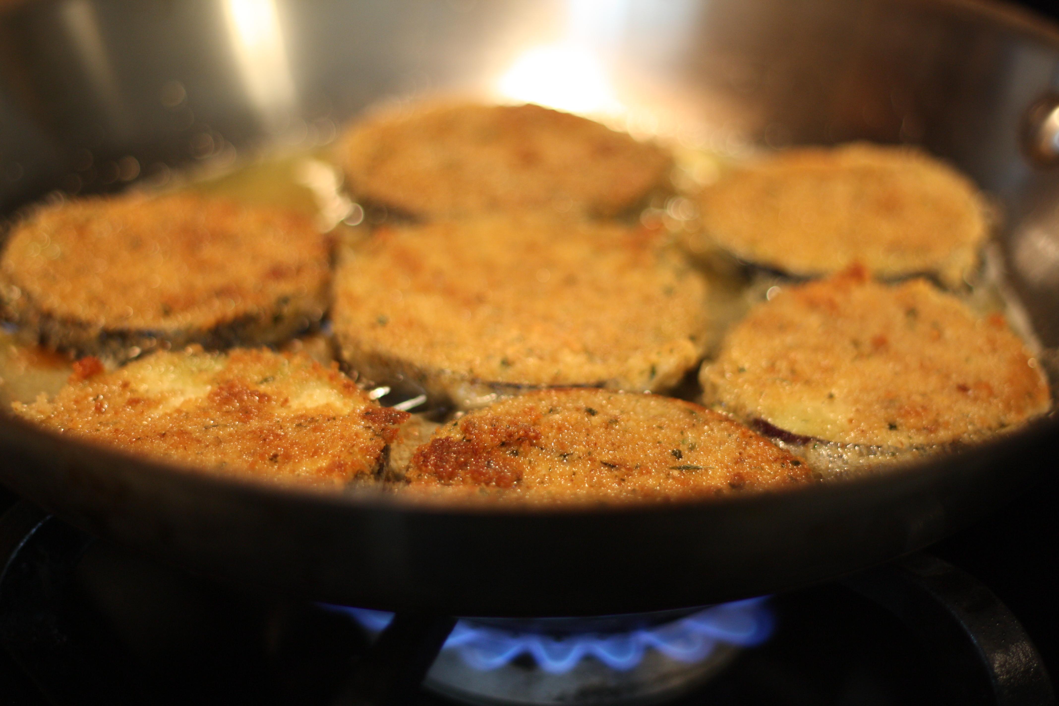 Баклажаны жареные с яйцом рецепты