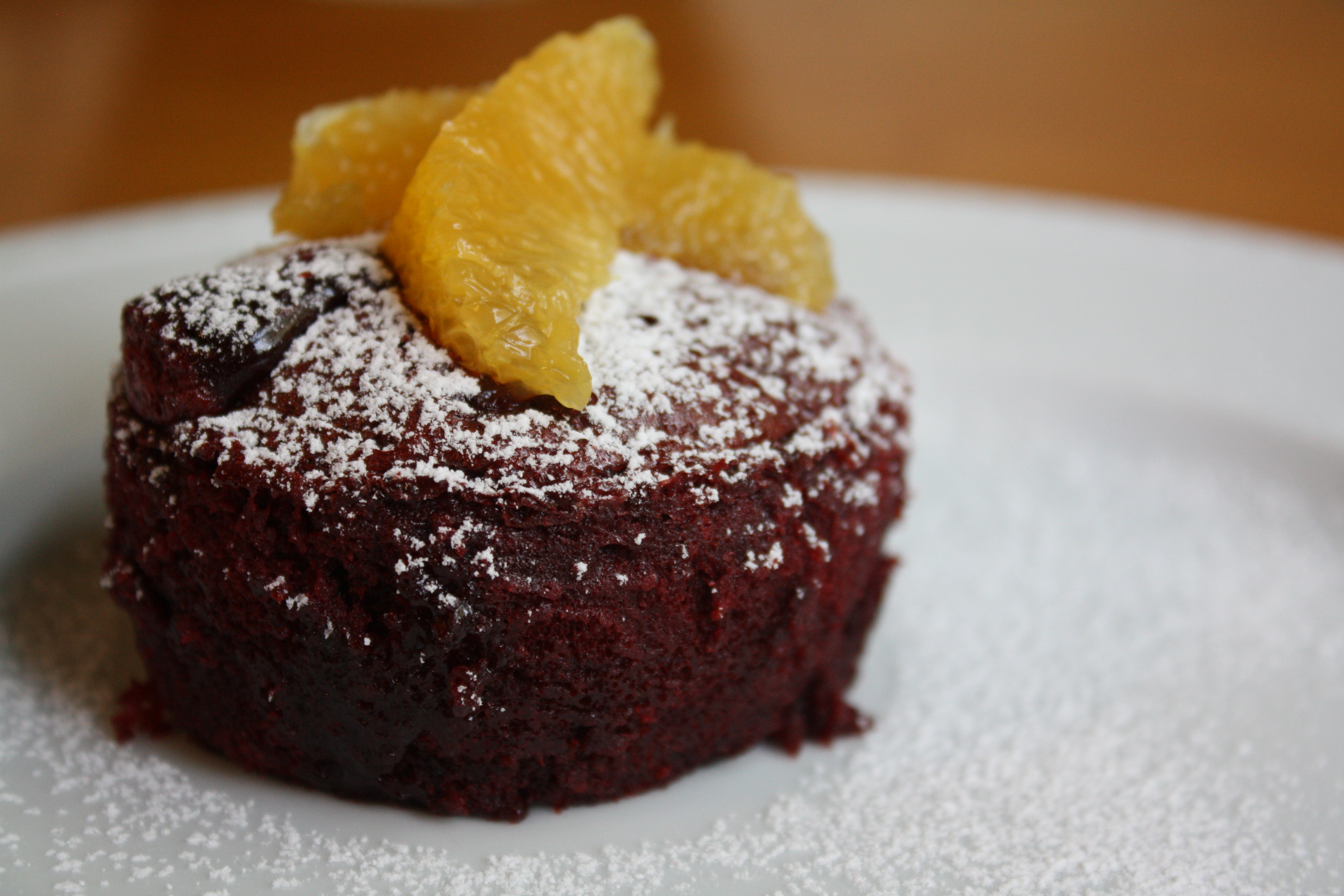 Bloody Molten Lava Cakes | The Gourmand Mom