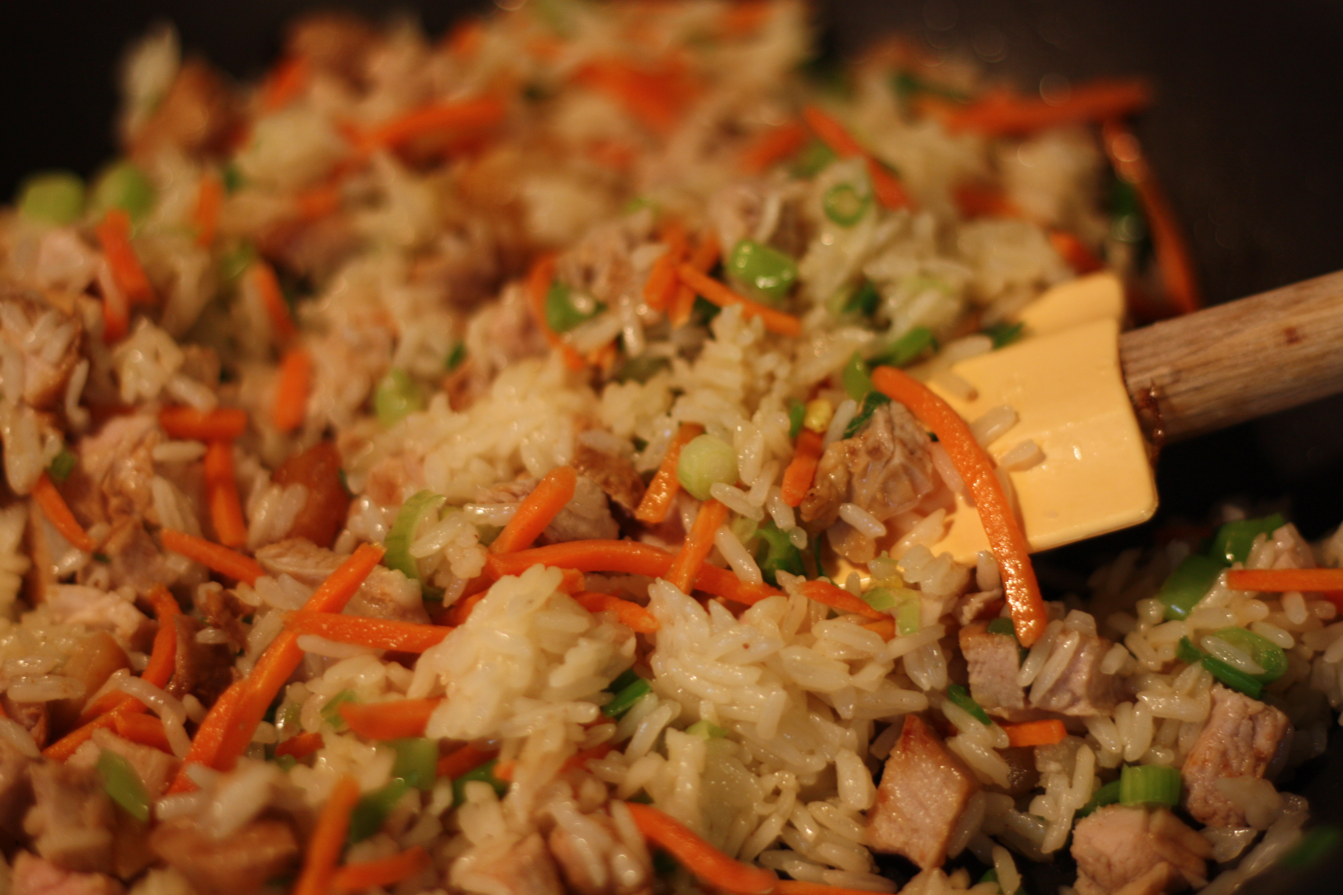 Easy pork fried rice the gourmand mom pork fried rice ccuart Image collections