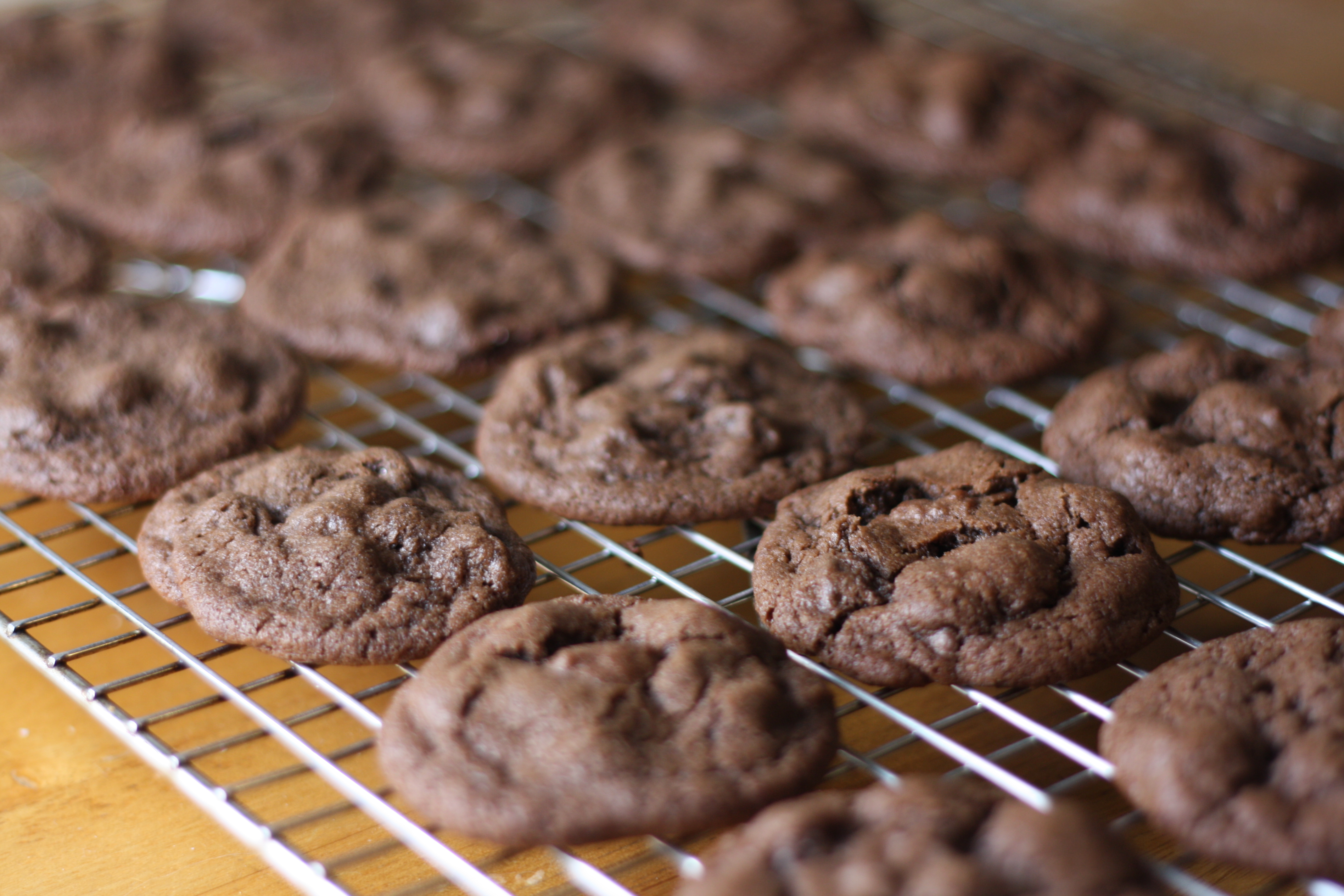 Double Chocolate Peppermint Cookies | The Gourmand Mom