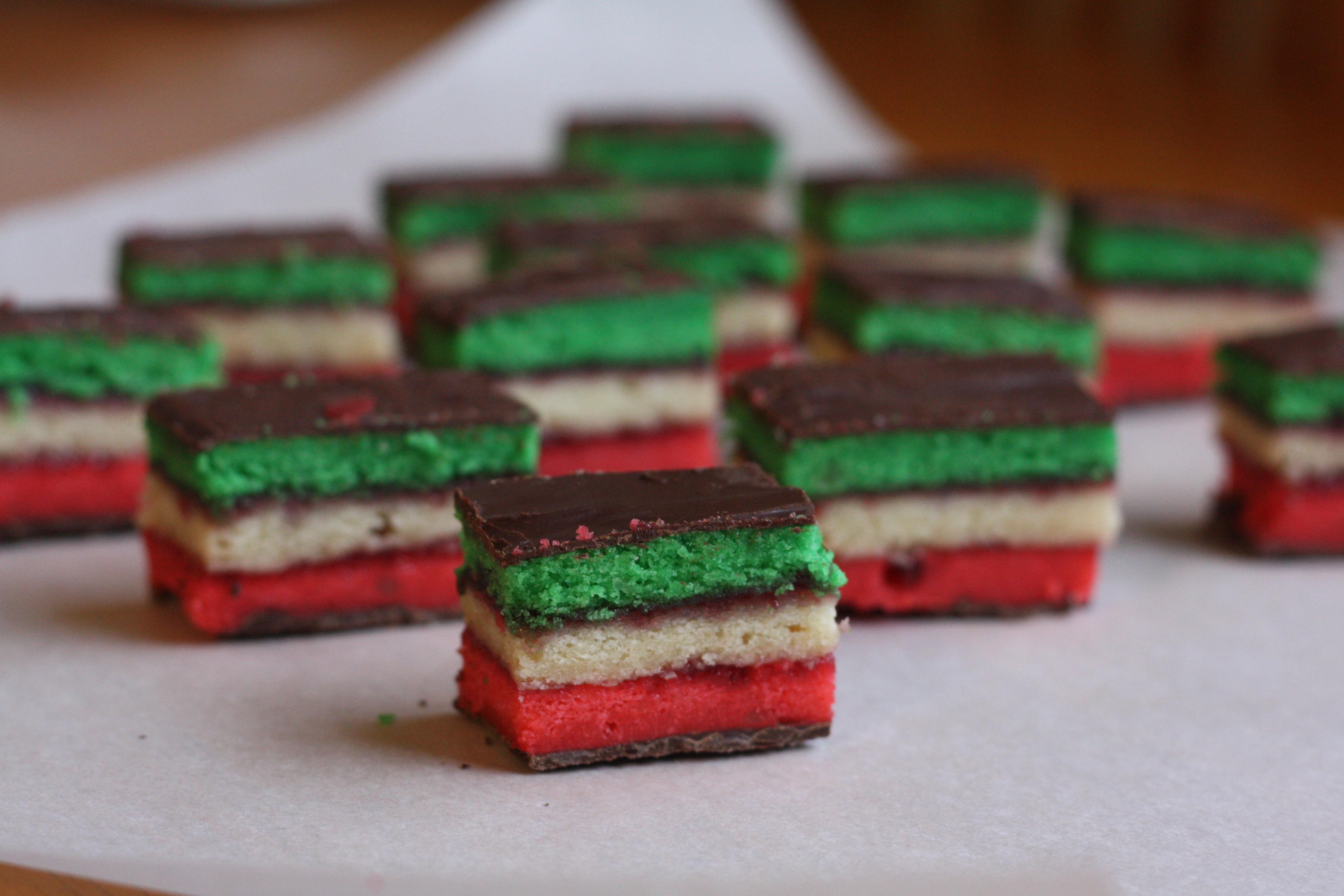 Rainbow Cookies Recipes — Dishmaps