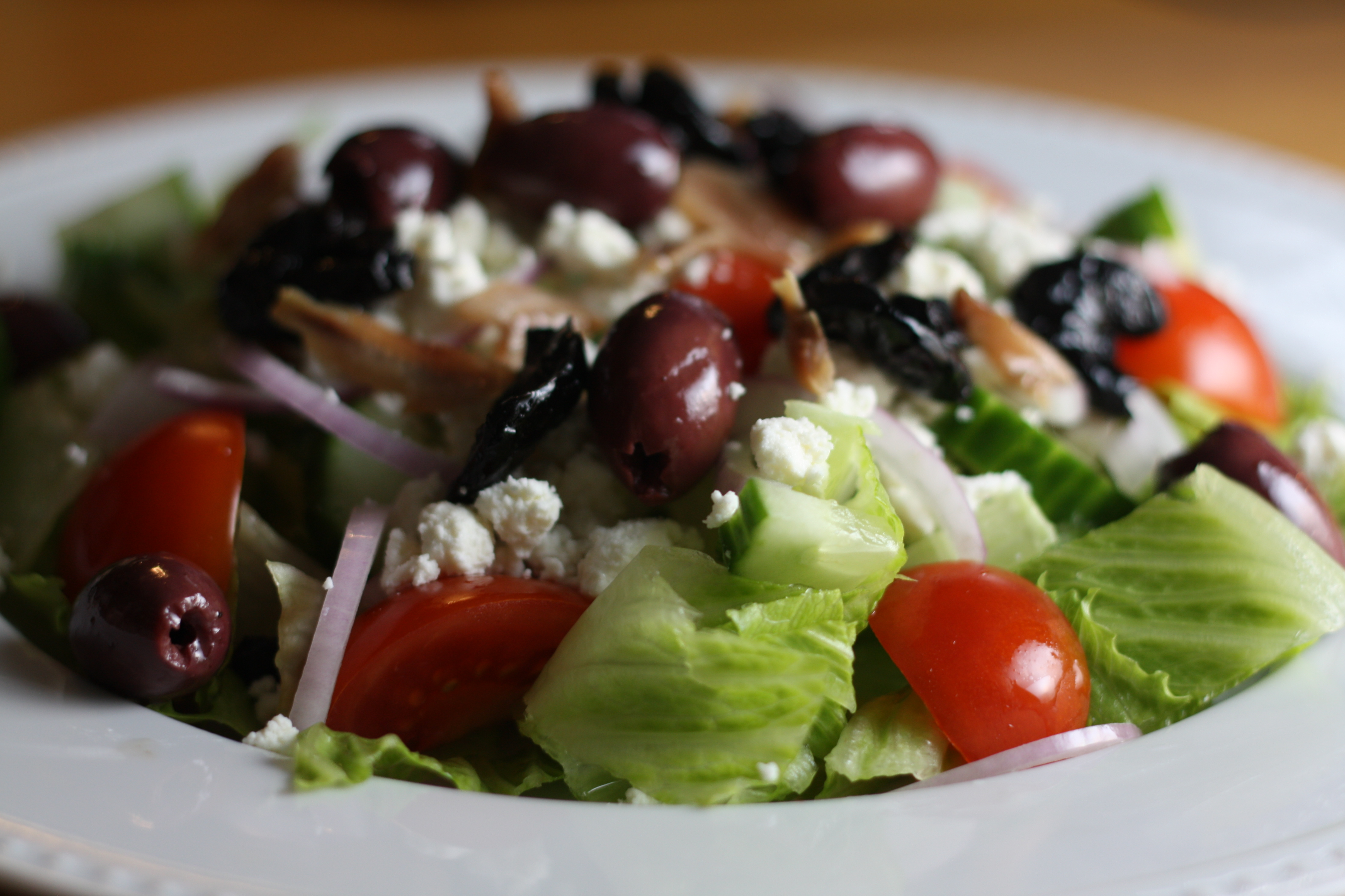 Greek Salad and a Love Story | The Gourmand Mom