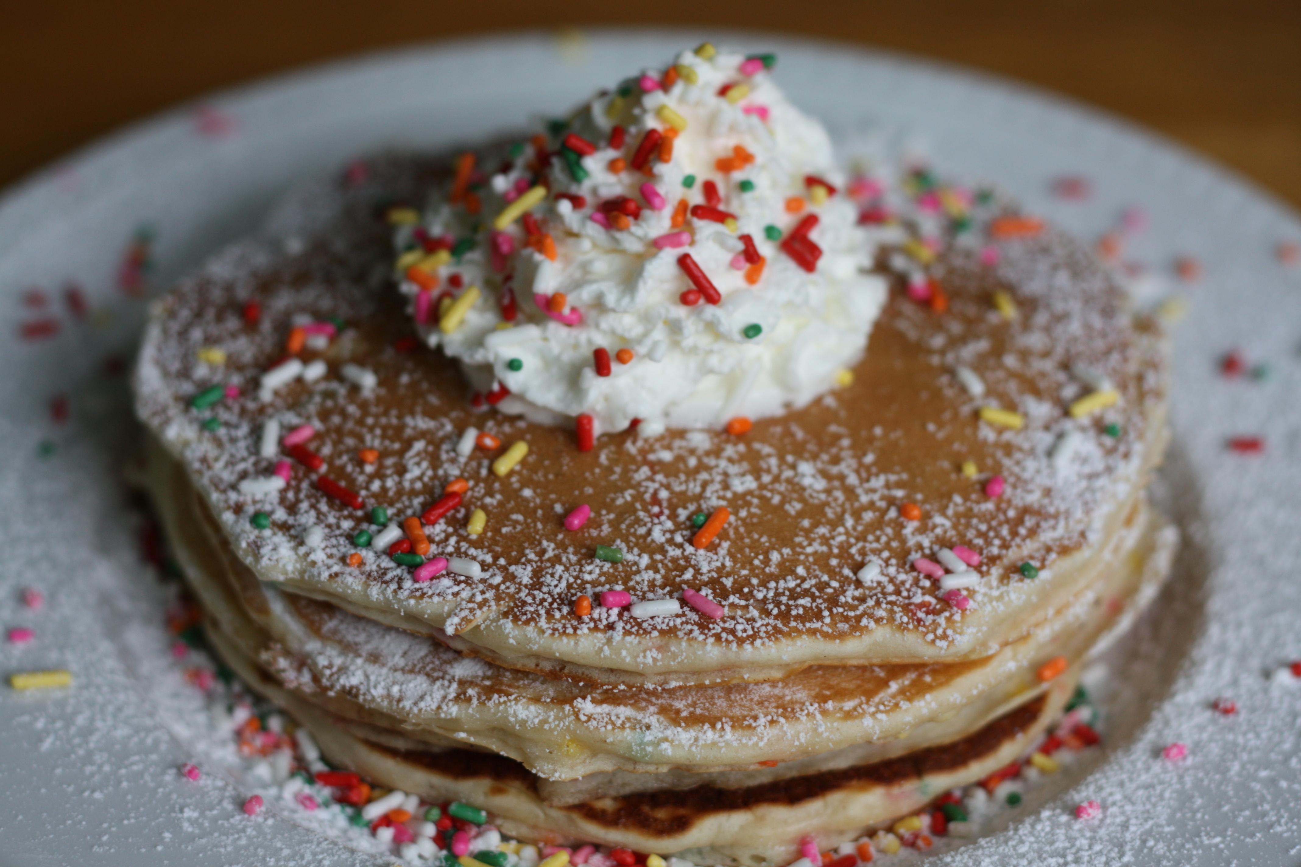 Birthday Cake Pancakes Ingredients