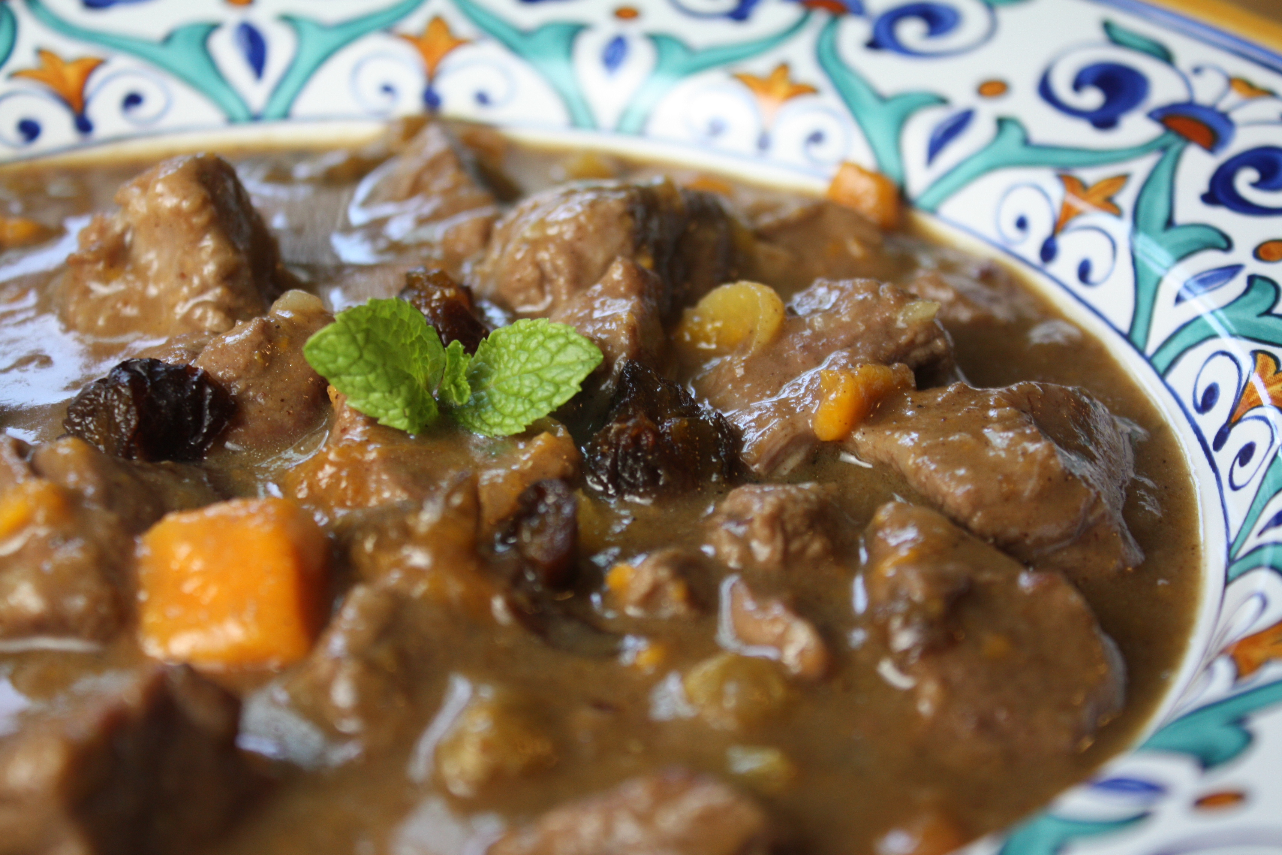 Moroccan-Style Lamb Stew with Dried Plums The Gourmand Mom