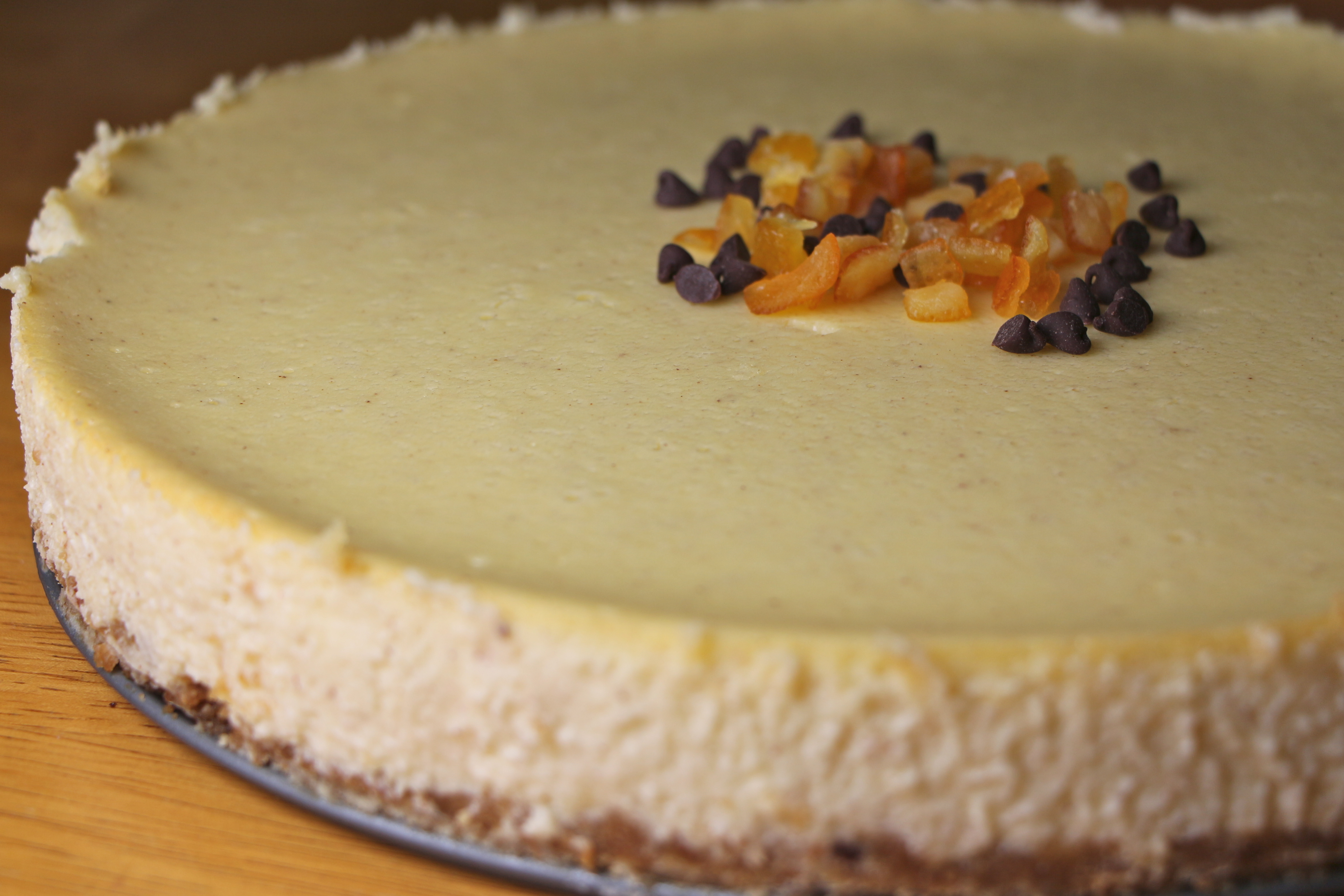 Cannoli Cheesecake   The Gourmand Mom