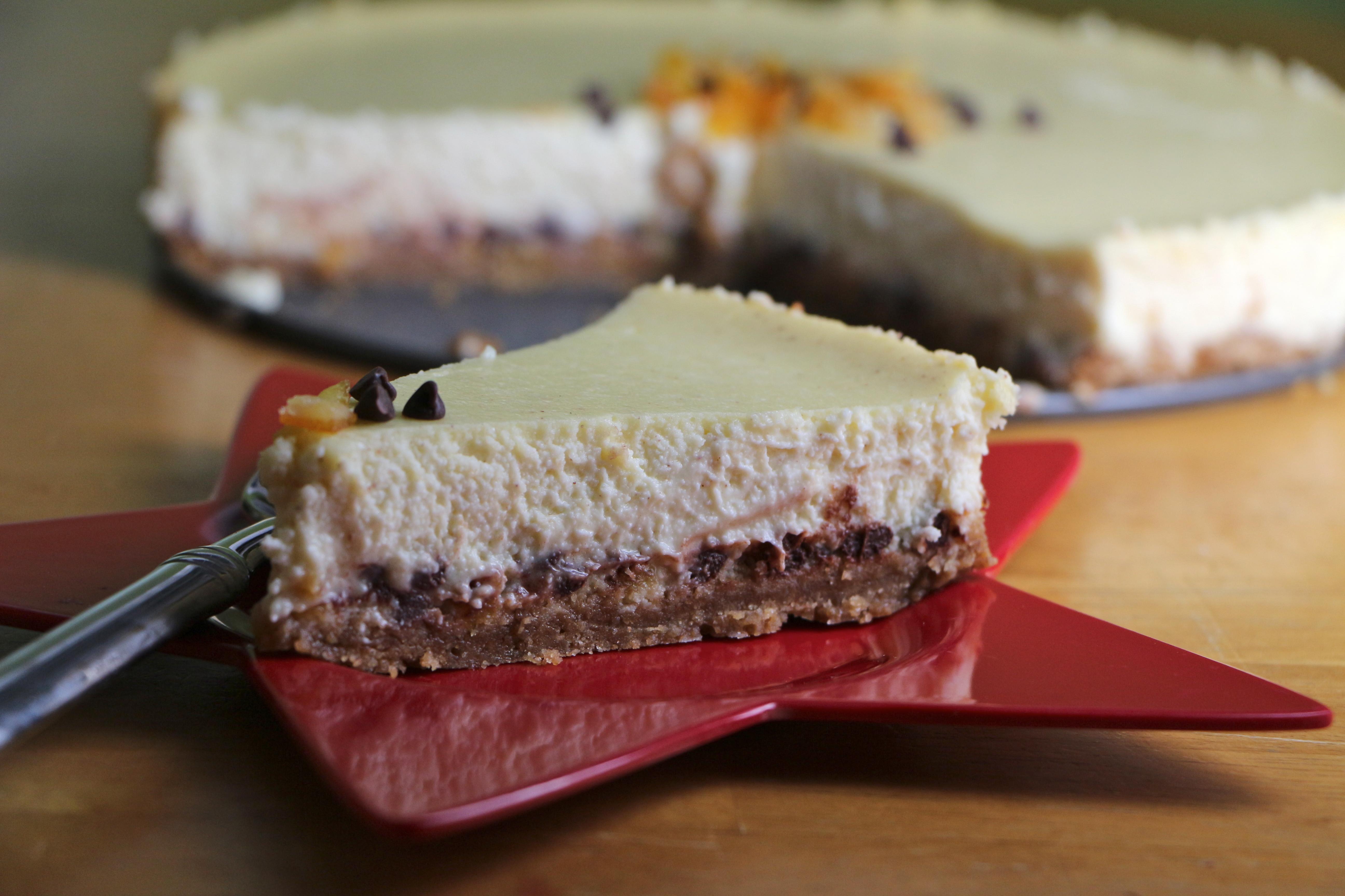Cannoli Cheesecake | The Gourmand Mom