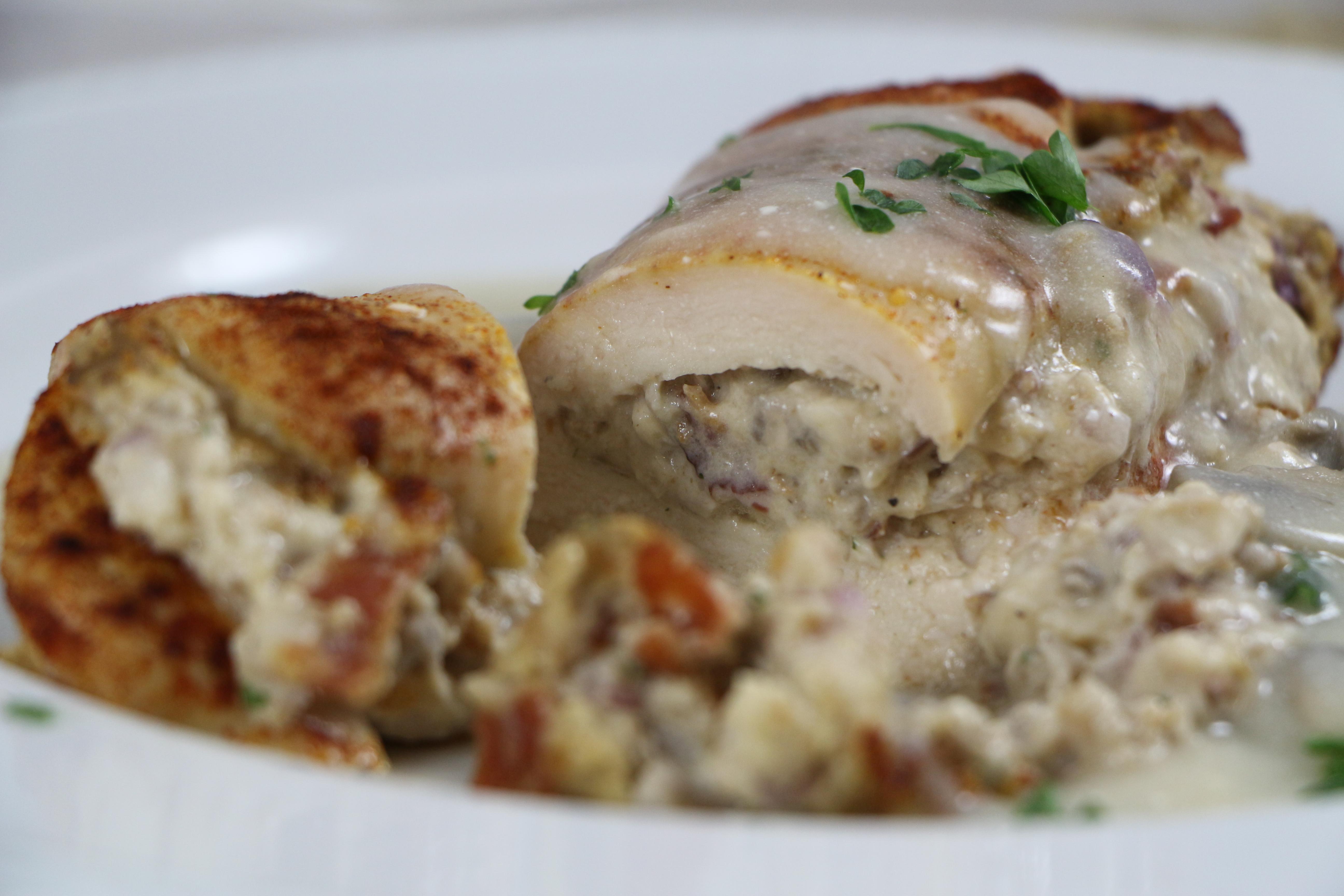 Easy mushroom stuffed chicken breast recipes
