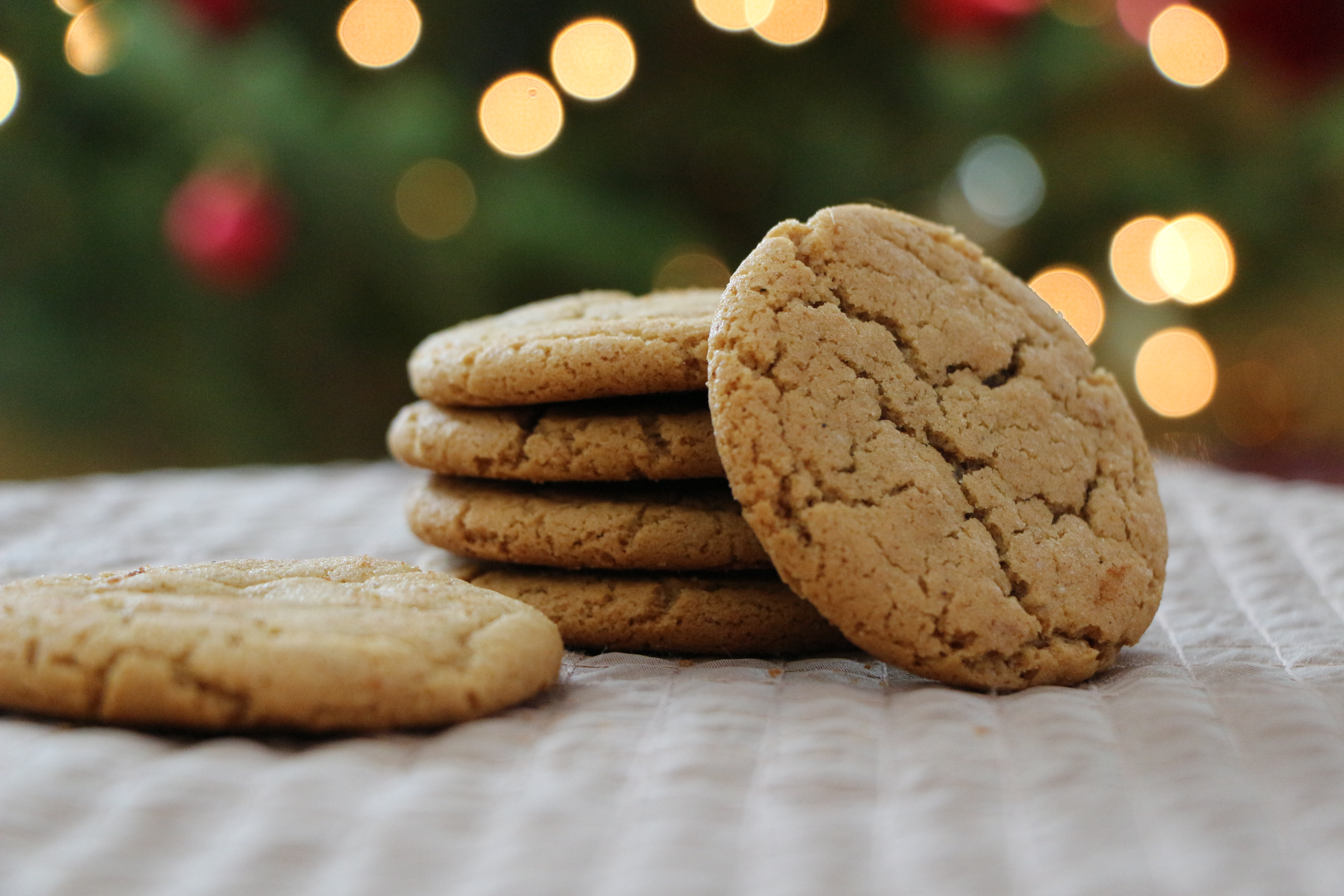 Triple Ginger Cookies and Holiday Sangria | The Gourmand Mom